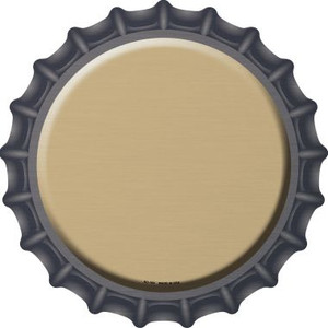 Gold Wholesale Novelty Metal Bottle Cap BC-164