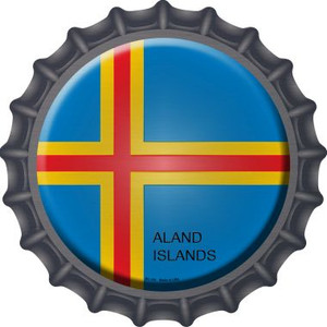 Aland Islands Country Wholesale Novelty Metal Bottle Cap BC-181