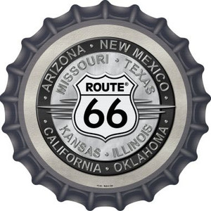 Route 66 States Wholesale Novelty Metal Bottle Cap BC-481