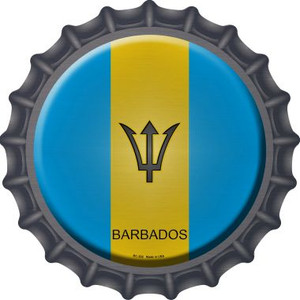 Barbados Country Wholesale Novelty Metal Bottle Cap BC-202