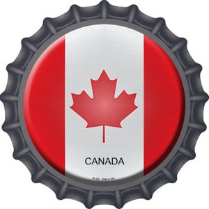 Canada Country Wholesale Novelty Metal Bottle Cap BC-223