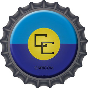 Caricorn Country Wholesale Novelty Metal Bottle Cap BC-226