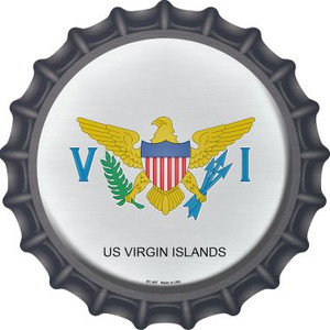 US Virgin Islands Wholesale Novelty Metal Bottle Cap BC-467