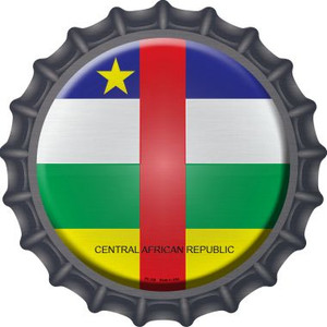 Central African Republic Country Wholesale Novelty Metal Bottle Cap BC-228