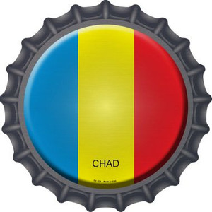 Chad Country Wholesale Novelty Metal Bottle Cap BC-229