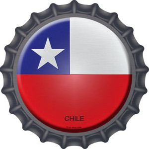 Chile Country Wholesale Novelty Metal Bottle Cap BC-231
