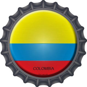 Colombia Country Wholesale Novelty Metal Bottle Cap BC-237