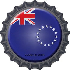 Cook Islands Country Wholesale Novelty Metal Bottle Cap BC-241
