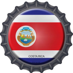 Costa Rica Country Wholesale Novelty Metal Bottle Cap BC-242