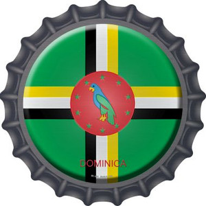 Dominica Country Wholesale Novelty Metal Bottle Cap BC-254