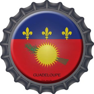Guadeloupe Country Wholesale Novelty Metal Bottle Cap BC-284
