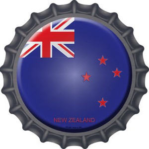 New Zealand Country Wholesale Novelty Metal Bottle Cap BC-369