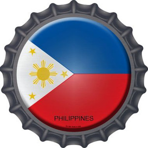 Philippines Country Wholesale Novelty Metal Bottle Cap BC-389