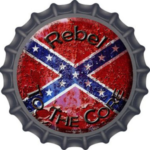 Rebel To The Core Wholesale Novelty Metal Bottle Cap BC-503