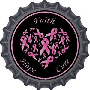 Faith Hope Cure Wholesale Novelty Metal Bottle Cap BC-533