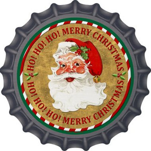 Ho Ho Ho Santa Wholesale Novelty Metal Bottle Cap BC-570