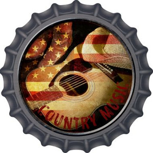Country Music Wholesale Novelty Metal Bottle Cap BC-573