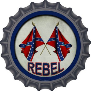 Rebel Wholesale Novelty Metal Bottle Cap BC-655
