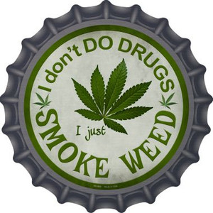Smoke Weed Wholesale Novelty Metal Bottle Cap BC-656