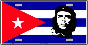 Che Guevara Flag Wholesale Metal Novelty License Plate LP-4908