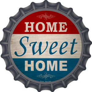 Home Sweet Home Wholesale Novelty Metal Bottle Cap BC-739