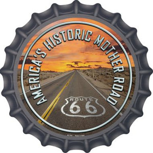 Mother Road Route 66 Wholesale Novelty Metal Bottle Cap BC-751