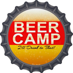 Beer Camp Wholesale Novelty Metal Bottle Cap BC-753