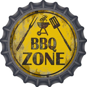 BBQ Zone Wholesale Novelty Metal Bottle Cap BC-837