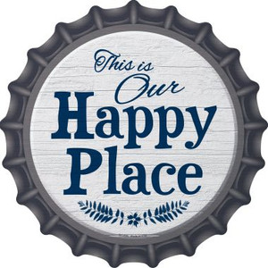 Our Happy Place Wholesale Novelty Metal Bottle Cap BC-858