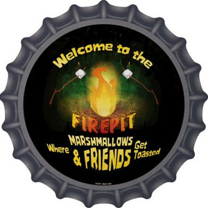 Welcome to the Firepit Wholesale Novelty Metal Bottle Cap BC-979