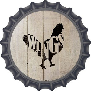 Chickens Make Wings Wholesale Novelty Metal Bottle Cap BC-1071