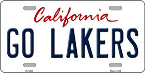 Go Lakers Wholesale Novelty Metal License Plate Tag LP-13343