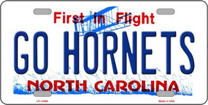 Hornets Fan Wholesale Novelty Metal License Plate Tag LP-13469