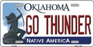 Go Thunder Wholesale Novelty Metal License Plate Tag LP-13485