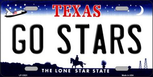 Go Stars Wholesale Novelty Metal License Plate Tag LP-13521
