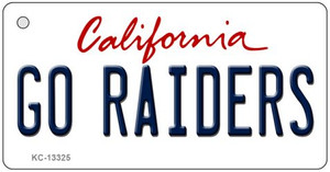 Go Raiders Wholesale Novelty Metal Key Chain KC-13325