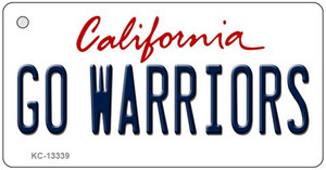Go Warriors Wholesale Novelty Metal Key Chain KC-13339