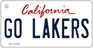 Go Lakers Wholesale Novelty Metal Key Chain KC-13343