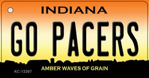 Go Pacers Wholesale Novelty Metal Key Chain KC-13397