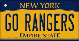 Go Rangers Wholesale Novelty Metal Key Chain KC-13461