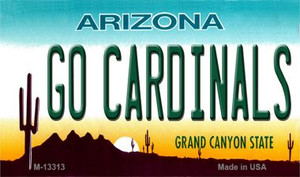Go Cardinals Wholesale Novelty Metal Magnet M-13313