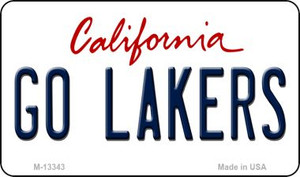 Go Lakers Wholesale Novelty Metal Magnet M-13343