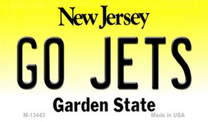 Go Jets Wholesale Novelty Metal Magnet M-13443