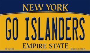 Go Islanders Wholesale Novelty Metal Magnet M-13465
