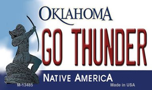 Go Thunder Wholesale Novelty Metal Magnet M-13485