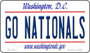 Go Nationals Wholesale Novelty Metal Magnet M-13537