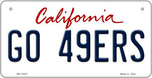 Go 49ers Wholesale Novelty Metal Bicycle Plate BP-13327