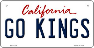 Go Kings Wholesale Novelty Metal Bicycle Plate BP-13349