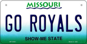 Go Royals Wholesale Novelty Metal Bicycle Plate BP-13431