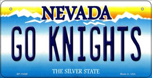 Go Golden Knights Wholesale Novelty Metal Bicycle Plate BP-13439